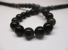 Obsidian 8mm +/-47pcs