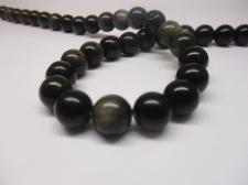 Obsidian 10mm +/-43pcs