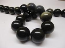 Obsidian 14mm +/-28pcs
