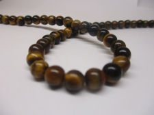 Tiger Eye 6mm +/-65pcs