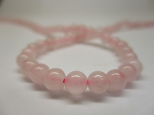 Rose Quartz 4mm +/-90pcs
