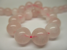 Rose Quartz 10mm +/-37pcs