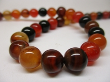 Dream Agate 8mm +/-48pcs