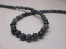 Blue Coral 4mm +/-94pcs