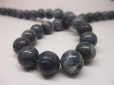 Blue Coral 10mm +/-39pcs