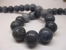Blue Coral 12mm +/-34pcs