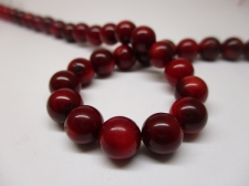 Red Coral 8mm +/-51pcs