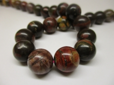 Red Picasso Jasper 12mm +/-33pcs