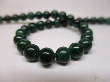 Malachite 5mm +/-73pcs