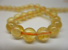 Citrine 6mm +/-60pcs