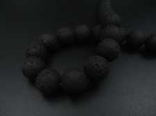 LAVA ROCK 12mm+/-32pcs Black