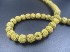LAVA ROCK 6mm+/-63pcs Khaki