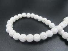 LAVA ROCK 6mm+/-63pcs White