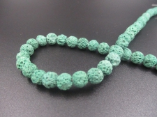 LAVA ROCK 6mm+/-63pcs Lt Green