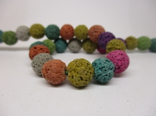 Lava Rock 10mm +/-38pcs Mix