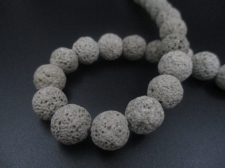 LAVA ROCK 12mm+/-32pcs Grey
