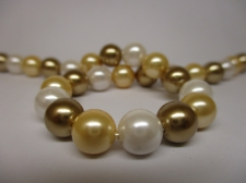 Shell Pearl 8mm +/-50pcs
