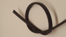 Leather Cord 2x4mm (1m) Brown