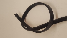 Leather Cord 2x5mm (1m) Black