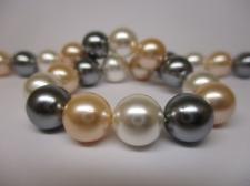 Shell Pearl 10mm +/-38pcs