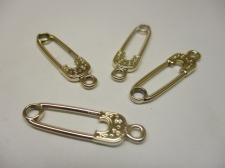 Charms Safety Pin 4pcs