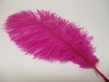 Ostrich feathers 20cm 5pcs #23 purple