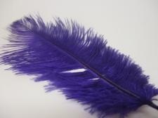 Ostrich feathers 20cm 5pcs #23 Dk purple