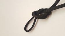 Paracord 5x3mm Black 10m