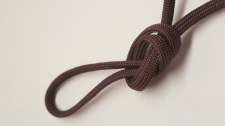 Paracord 5x3mm Brown 10m