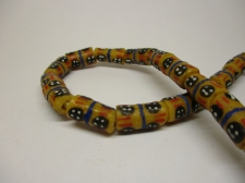 Ghana Trade African Beads +/-56CM 14X8MM