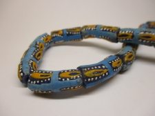 Ghana Trade African Beads +/-58cm 22x9mm