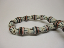 Ghana Trade African Beads +/-66cm 14x10mm