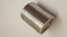 Cotton Cord Silver 5g