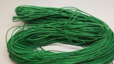Wax cord 1mm +/-70m Green Cod;A25