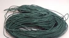 Wax cord 1mm +/-70m DK Green Cod;A27