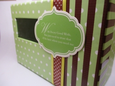 Gift Boxes(With every good wish,You just need to trust that ill be here when you need me. (L) 15x11x8cm