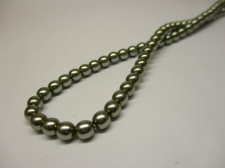 Czech Glass Pearls 4mm Lt Grey +/--120pcs