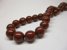 Czech Glass Pearls 8mm Brown +/-75pcs