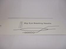 Big Eye Beading Needle 1pcs