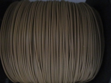 Telephone Wire 0.9mm +/-450m Lt Brown