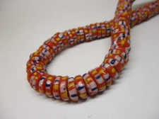 Ghana Trade African Beads +/-66cm 4x11mm