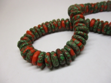 Ghana Trade African Beads +/-52cm 4x12mm