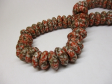Ghana Trade African Beads +/-52cm 6x14mm