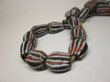 Ghana Trade African Beads +/-60cm 17x15x9mm