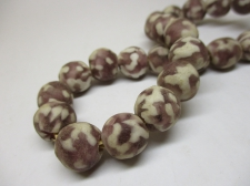 Ghana Trade African Beads +/-56cm 13mm