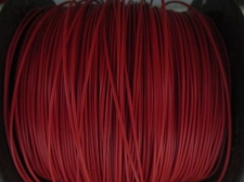 Telephone Wire 0.9mm +/-450m Dk Red