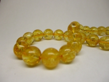 Citrine 10mm +/-38pcs