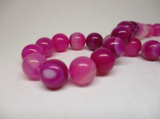 Rose Agate 6mm +/-64pcs