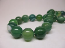Green Agate 10mm +/-37pcs