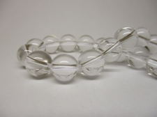 Clear Quartz 8mm +/-46pcs